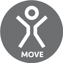 move badge